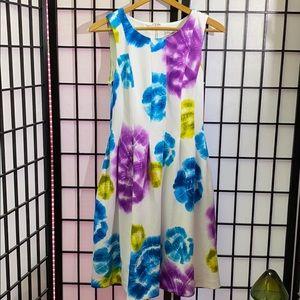 Calvin Klein Tie Dye Dress Size 4